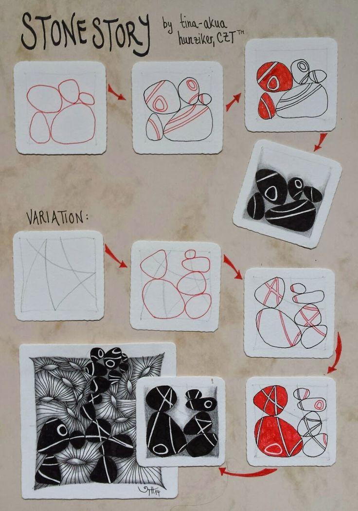 AKUA-ART: Stonestory tangle