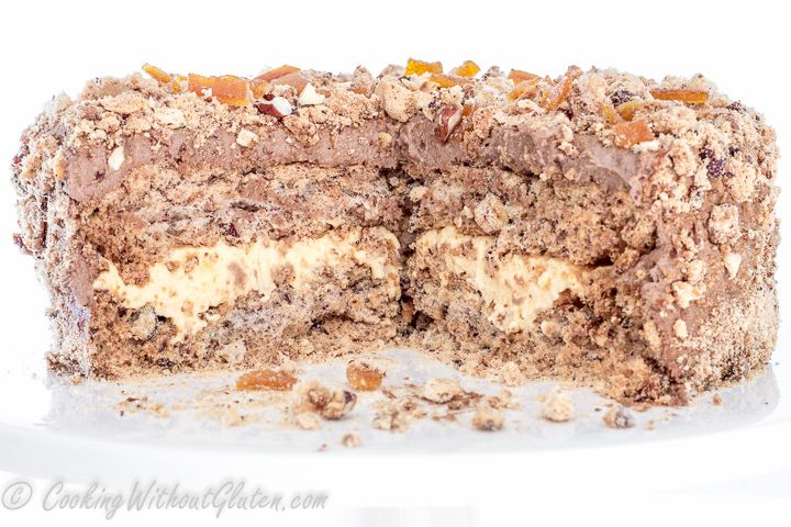 Киевский торт без глютена