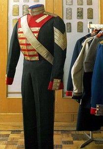 русский военный костюм