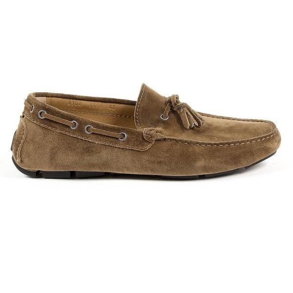 V 1969 Italia Mens Loafer Brown JEREMY ($194) ❤ liked on Polyvore featuring men's fashion, men's shoes, mens brown loafer shoes, mens brown shoes, mens shoes, mens brown loafers and mens loafers