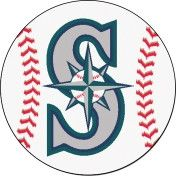 Show your passion for the Seattle Mariners through your home décor Baseball Mat. This baseball-shaped area rug is made with 100% nylon and features a recycled non-skid vinyl backing. and officially li