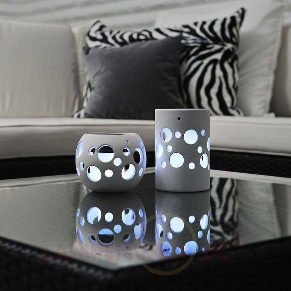 weiße LED-Solarleuchte NEW GENOVA 5522258X