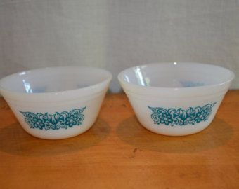 FEDERAL Glass Company Set of T
