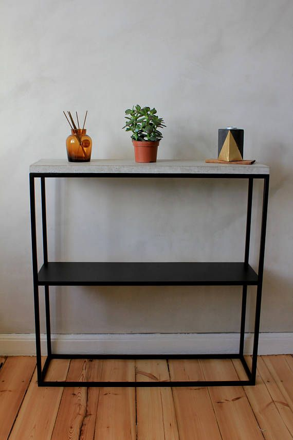 Narrow Console Table Console Table Concrete Table Entry Narrow Console Table Very Narrow Console Table Glass Table Decor