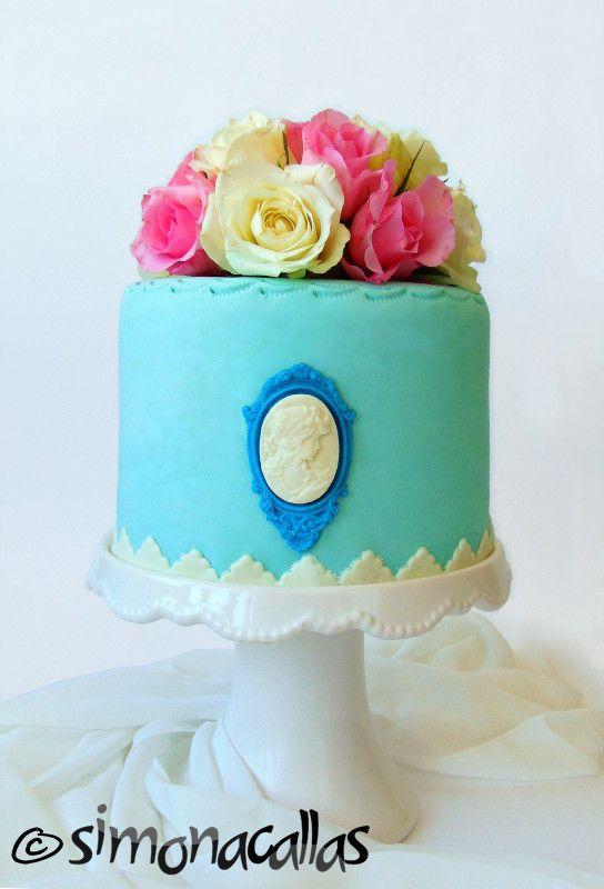 Shabby Chic Cake by simonacallas