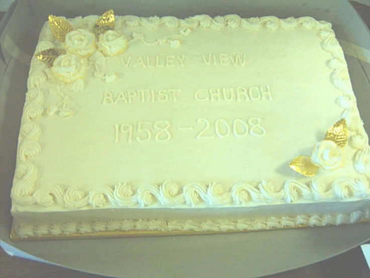 Church Anniversary Cake Images : 1000+ images about Church 50th Anniversary ideas on ...