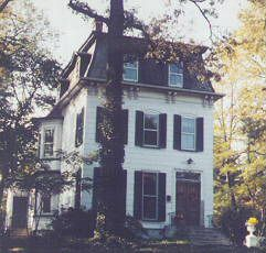Addams Family House - Westfield, NJ - Neighboring Charles Addams' childhood home and inspiration for The Addams Family - I walked past this house everyday on my way home from middle school and later won the Addams Family scholarship to art school- being a freak pays off