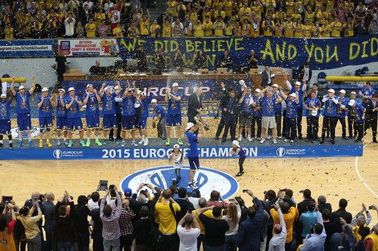 Чемпионы Еврокубка 2014-2015