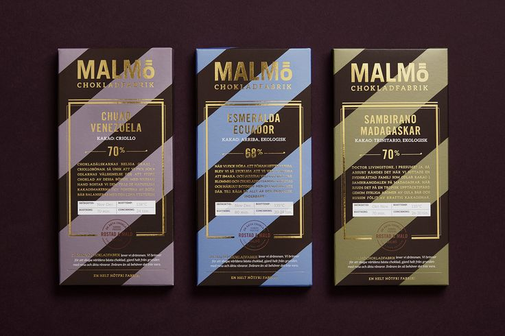 This Swedish Chocolate Brand Comes With a Flashy Look — The Dieline | Packaging & Branding Design & Innovation News