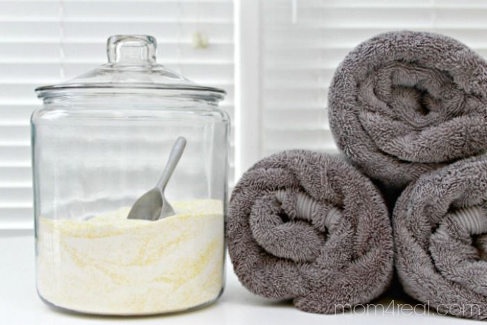 Homemade and Inexpensive Laundry Detergent - I've really been trying to make as many of my own household cleaners as I can lately. There is just something about…
