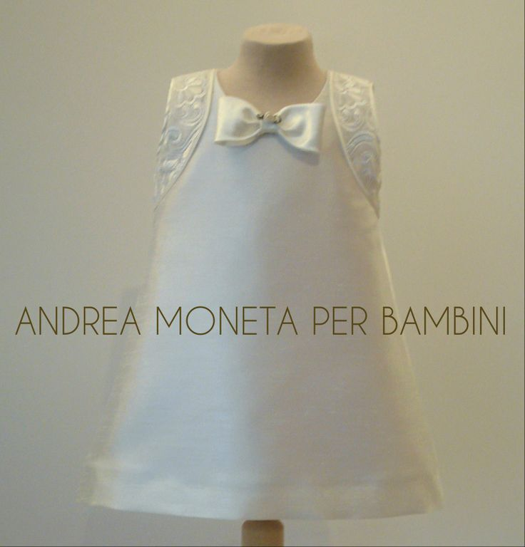 172. Vestido de Shantung Importado y Organza Bordada para Bebe o Niña. Ideal para Bautizo, Cortejo de Bodas, Fiesta, Cumpleaños Dress for Baby or Girl, Baptism, Wedding, Party and More.  www.andreamoneta.wix.com/perbambini Venta y Entrega Internacional Global Sales and Shipping  Argentina www.andreamoneta.dmtienda.com Venezuela www.amonetah.mercadoshops.com.ve