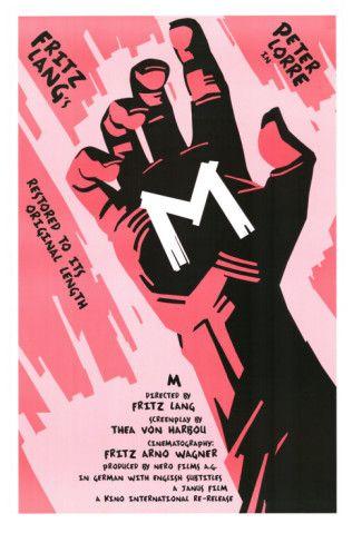 M, 1931 Posters at AllPosters.com, 28x43cm. 20.99€