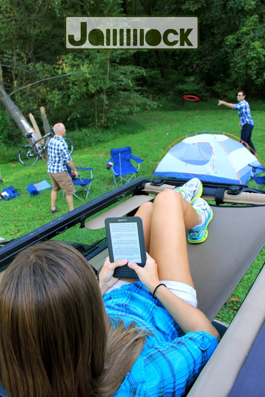 Jammock: it's a hammock for your Jeep. Price: $114.99 USD. CLICK the PICTURE or check out my BLOG for more: http://automobilevehiclequotes.tumblr.com/#1506211444