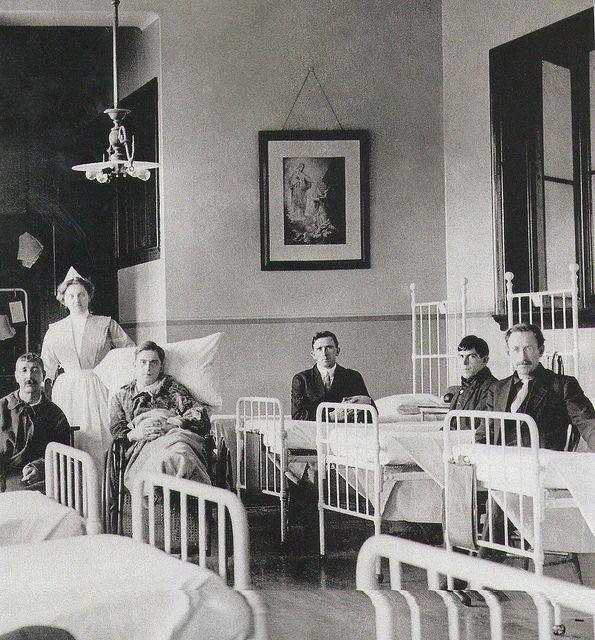 Surviving Patients From The Titanic At  St Vincent de Paul Hospital