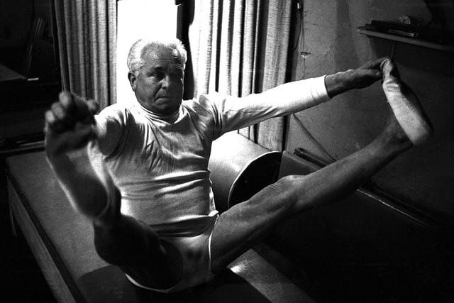 Read this short biography of Joseph Pilates, the founder of the Pilates method of exercise and the inventor of the Pilates exercise equipment. Joseph Pilates story is an essential part of the history of Pilates.