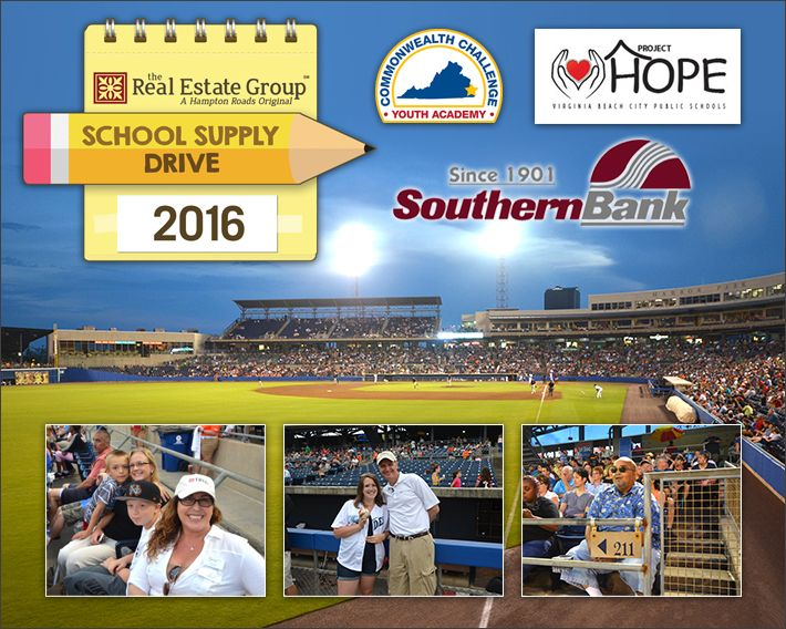 "We wanted to send a very special ""Thank You!"" to everyone who joined us at our School Supply Drive and Teacher Appreciation Night at Harbor Park on June 4, 2016. ..."