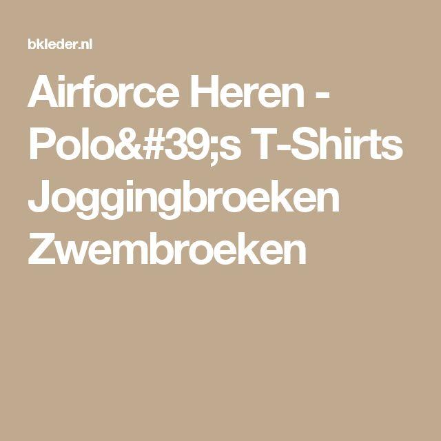 Airforce Heren - Polo's T-Shirts Joggingbroeken Zwembroeken