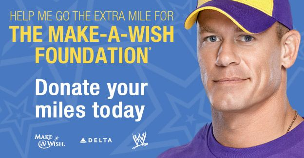 john-cena number one Make A Wish celebrity granter