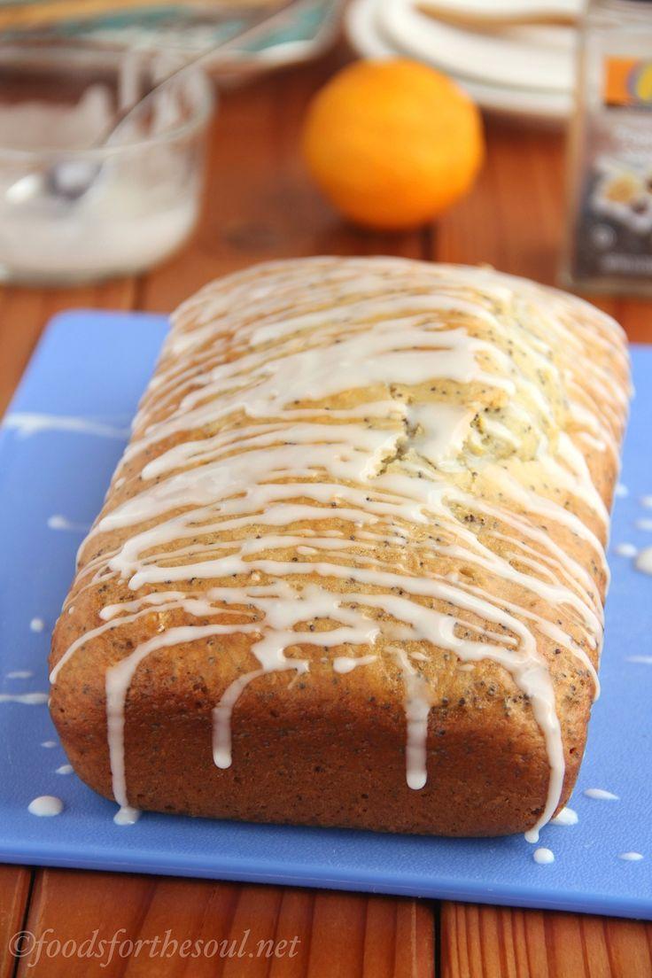 really easy recipe for Lemon Poppy Seed Loaf Cake. It's so full of ...