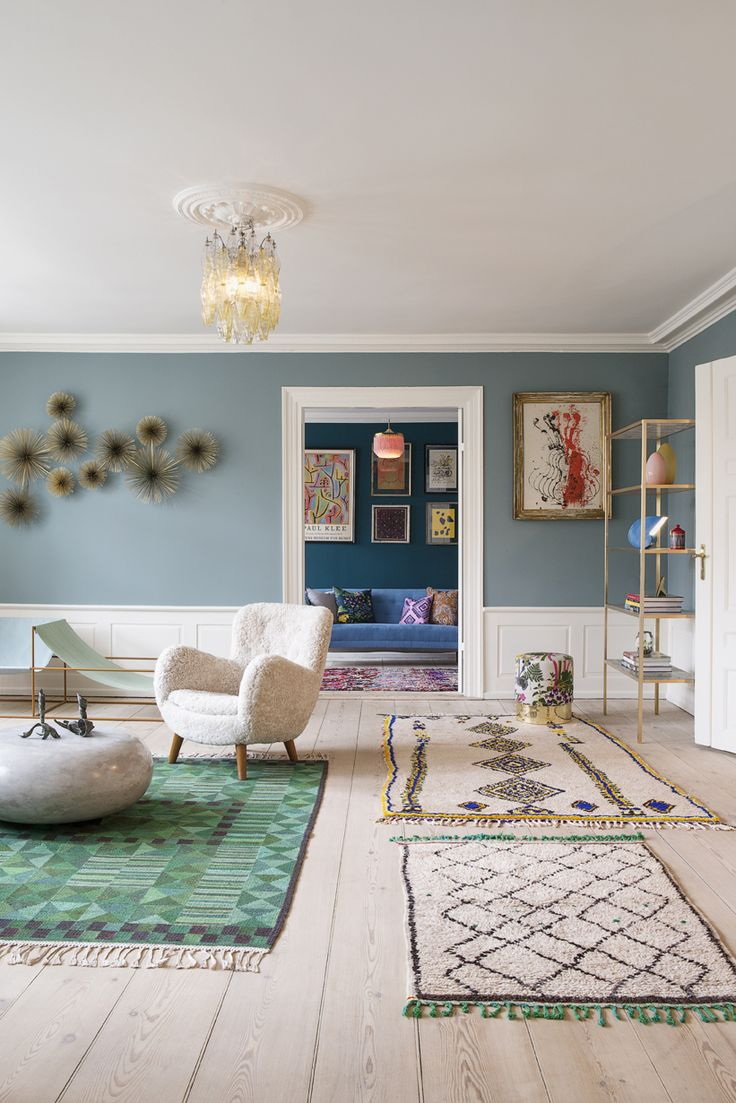 lovely colours + rugs