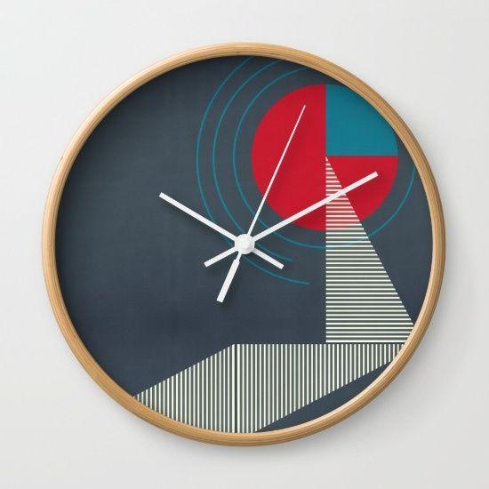 Minimal #43 by Liall Linz, $30. https://society6.com/product/minimal-43_wall-clock?curator=bestreeartdesigns