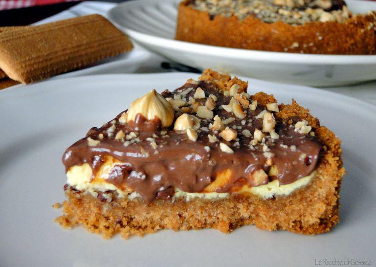 cheesecake alla nutella con ricotta bimby