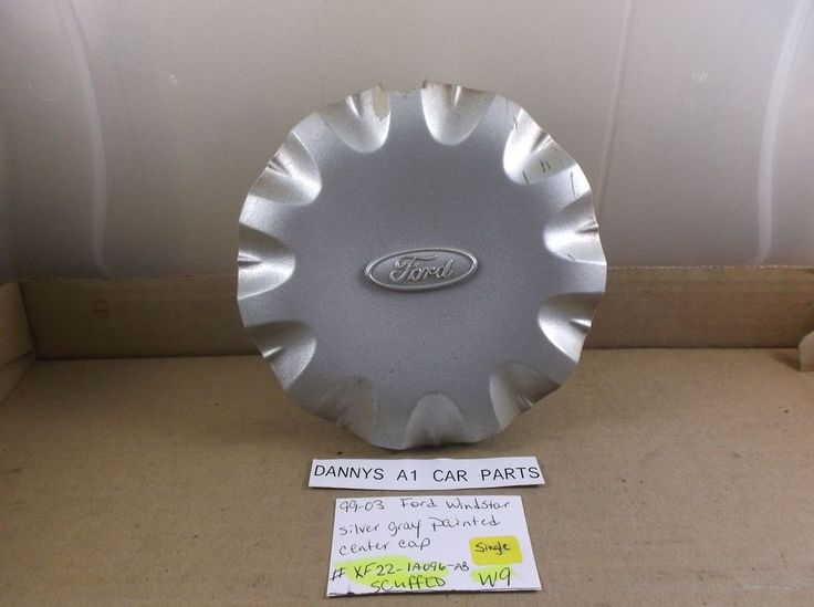 Ford Windstar 99-03  Wheel Center Cap P/N  XF22-1A096-AB hubcap cover  W9 #ford