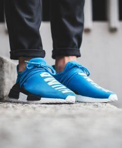 c32595e58 Mens size Human Race Adidas HU Shale Blue   PW unauthorized sneakers in 2019