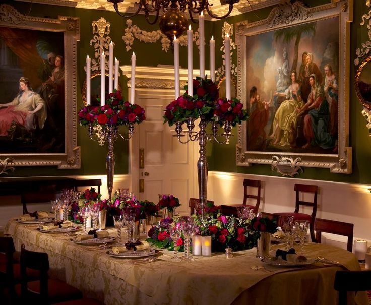 Victorian dining...
