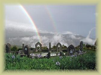 eco-shrine at Hogsback