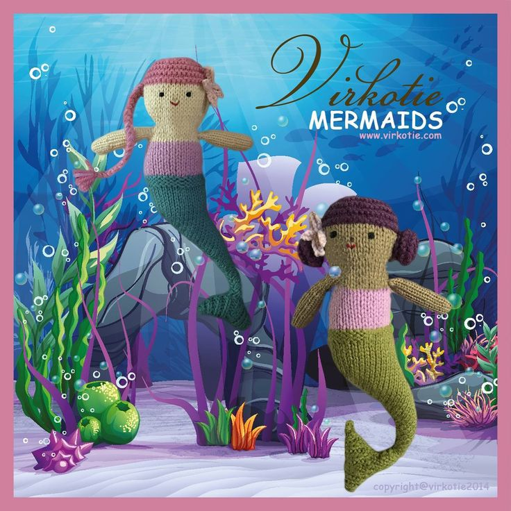 """Check out my @Behance project: """"VIRKOTIE Mermaids"""" https://www.behance.net/gallery/58112847/VIRKOTIE-Mermaids"""