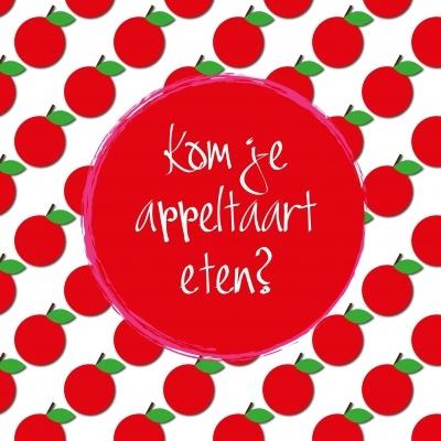Wat een geweldige kaart! Mijn appeltaart is helaas niet zo lekker!  #lovejule