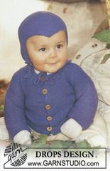 Ravelry: s9-19 Cardigan, trousers, socks, mittens and hat in Baby-ull pattern by DROPS design