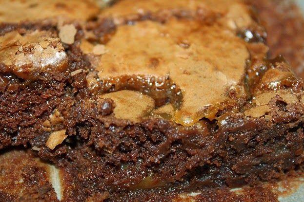 Brownies met gezouten caramel - glutenvrij of met gluten