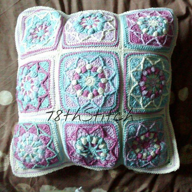 Sunflower Cushion Knitting Pattern : 7008 best images about Instagram Crochet Inspiration on Pinterest Crochet f...