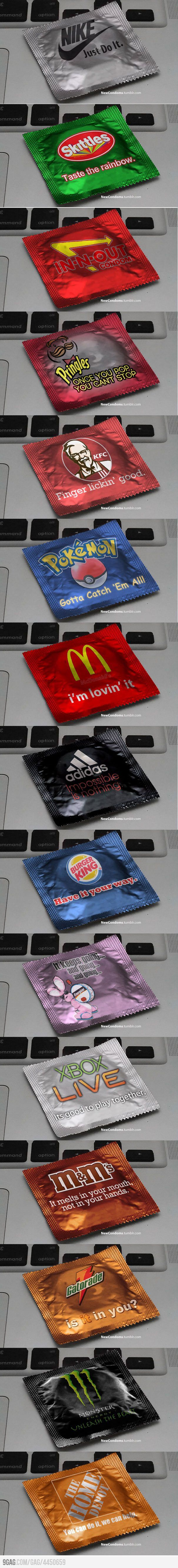 Just some Epic condoms...