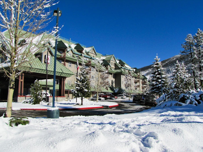 Lake Tahoe Vacation Resort in Winter in South Lake Tahoe, California