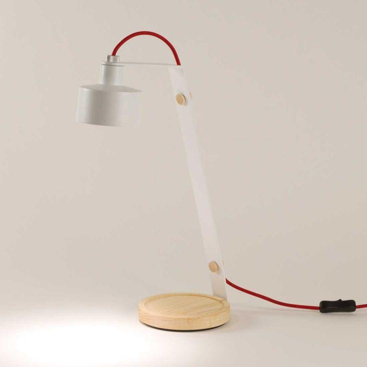 Lampa biurkowa JAZZ LED marki CALABAZ http://www.agamartin.com/