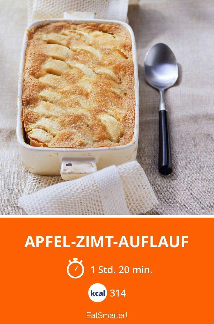 Apfel-Zimt-Auflauf - smarter - Kalorien: 314 kcal - Zeit: 1 Std. 20 Min. | eatsmarter.de