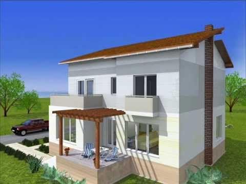Casa Iulia   proiect casa parter si etaj- www.oncasa.ro