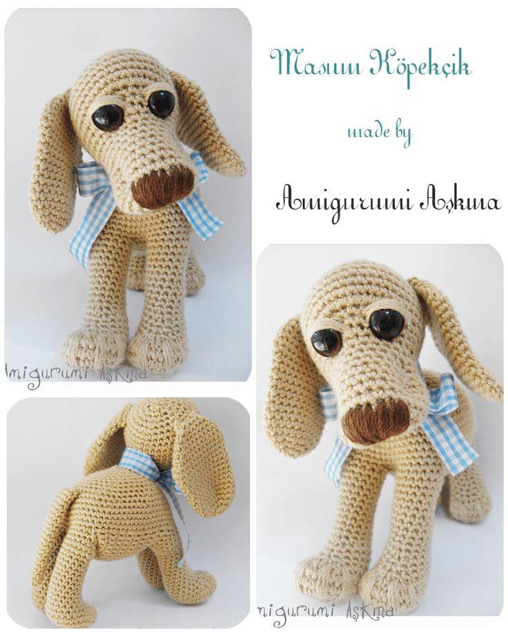 Amigurumi Aşkına: Masum Köpeğim-Amigurumi Retriever Köpek