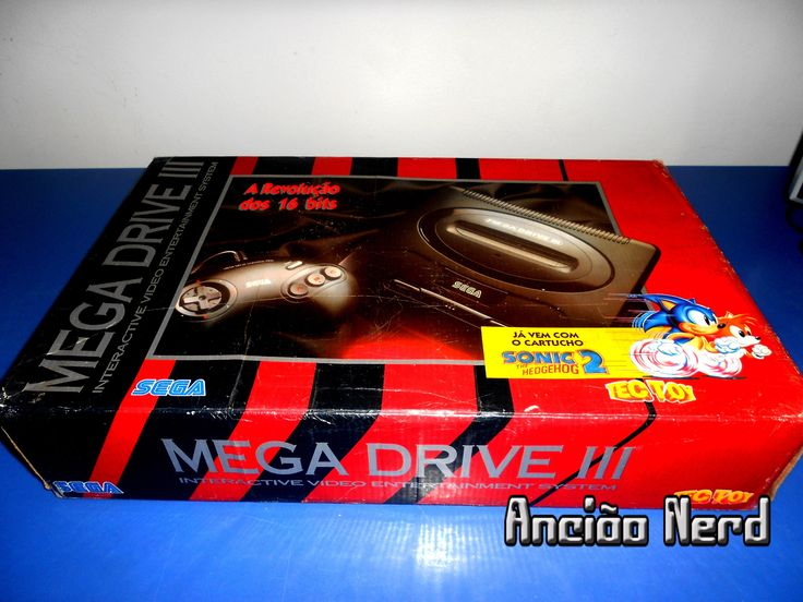 SEGA Mega Drive 3 da Tectoy - Unboxing (SEGA Genesis)
