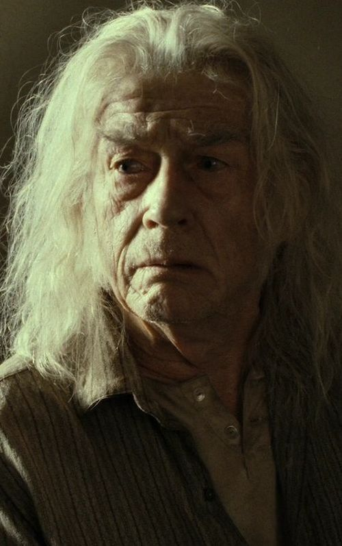 Garrick Ollivander (John Hurt) in Harry Potter and the Deathly Hallows: Part 2 (2011)
