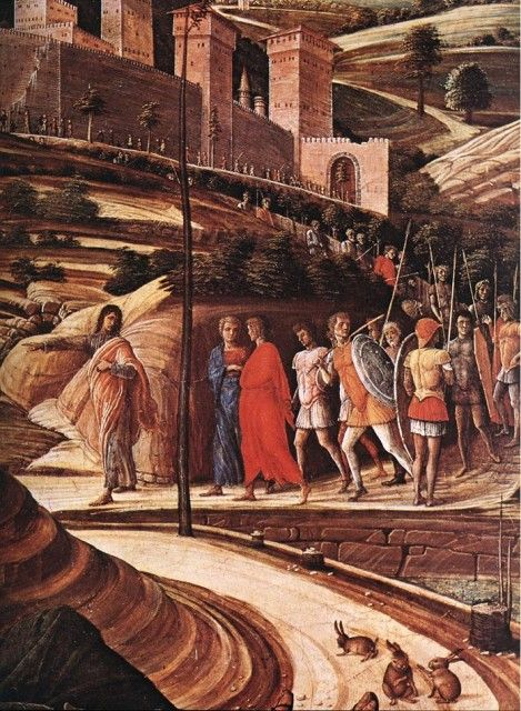 Andrea Mantegna - Agony in the Garden [detail]