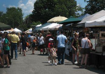 The Flea Market at Eastern Market, Washington, D.C - America's Best Flea Markets