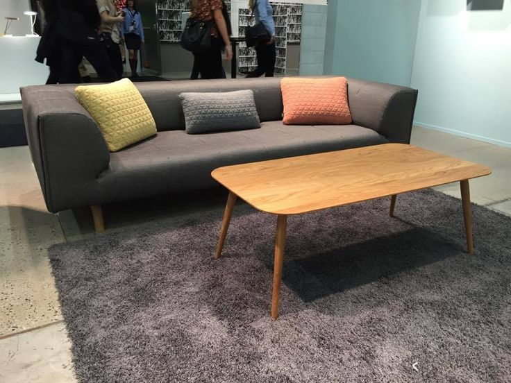 New Sofa from Versus and Coffee Table from BruunMunch