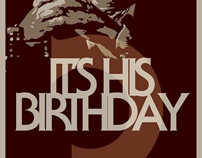 "Check out new work on my @Behance portfolio: ""A president birthday"" http://be.net/gallery/51668593/A-president-birthday"
