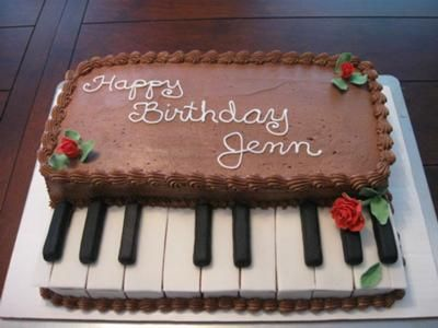 cakes with piano theme - Google Search