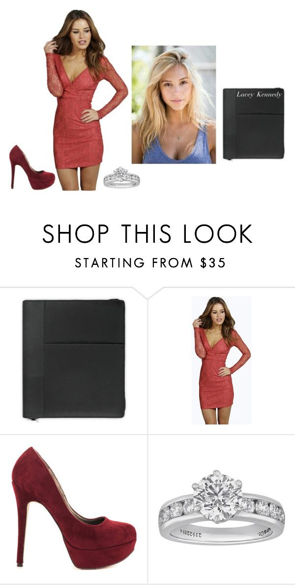 """""""ootd -lacey"""" by second-starr-to-the-right ❤ liked on Polyvore featuring Mead, Boohoo, Michael Antonio and Tiffany & Co."""