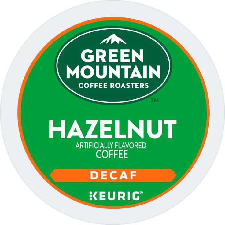Green Mountain Coffee Decaf Hazelnut KCup Pods (48Pack